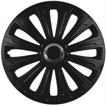 Колпаки для колес Trend RC black R15 (Комплект 4 шт.) Elegant