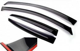 Ветровики Nissan Qashqai II 2014 VL,Cobra Tuning