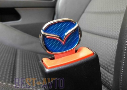 Заглушки ремней безопасности Mazda