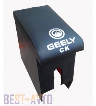 Probass Tuning Подлокотник Geely CK с вышивкой черный