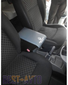 Probass Tuning Подлокотник Renault Kangoo c 2008 г. с вышивкой серый