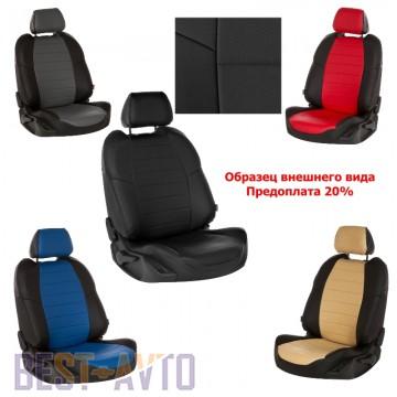 Prestige Чехлы на сидения Skoda Fabia 1999-2007 цельная спинка