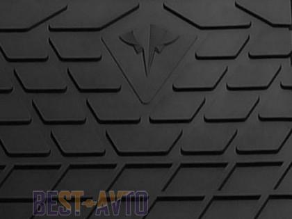 Stingray Коврики резиновые Skoda Superb I 2001-2008/VW Passat B5