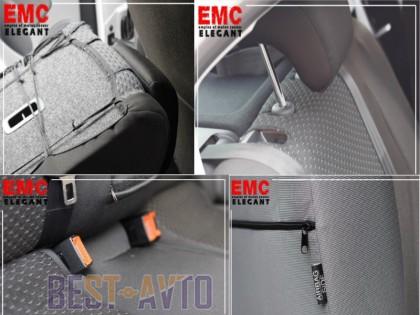 EMC-Elegant Чехлы на сидения Skoda Fabia (6Y) Sedan (раздельная) с 2001-07 г