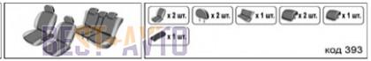 EMC-Elegant Чехлы на сидения Skoda Yeti c 2009 г