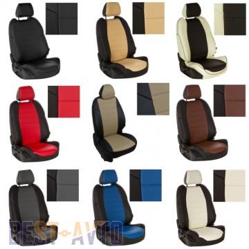 FavoriteLux Авточехлы на сидения Skoda Fabia (6Y) Sedan (раздельная) с 2001-07 г