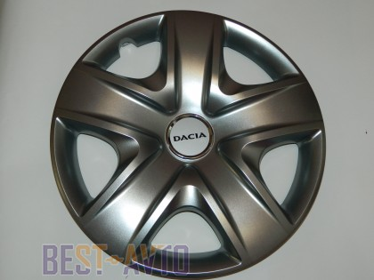SKS 500 Колпаки для колес на Dacia R17 (Комплект 4 шт.)