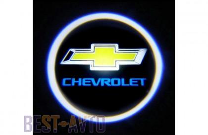 Проекция логотипа Chevrolet. Проводные проекторы 5Вт