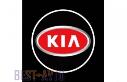 Проекция логотипа Kia. Проводные проекторы 5Вт