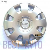 SKS 107 Колпаки для колес на Dacia R13 (Комплект 4 шт.)