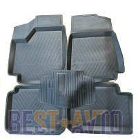 ЗРТИ Резиновые глубокие коврики ВАЗ 2121 (Нива)