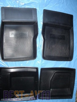 ЗРТИ Резиновые глубокие коврики ГАЗ 2410-3110