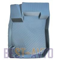 ЗРТИ Резиновые глубокие коврики Renault Logan 2004-2013 (передние)