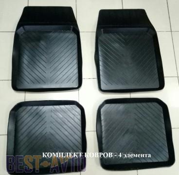 ЗРТИ Резиновые глубокие коврики ВАЗ 2101-2107 (комплект)