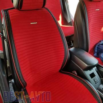Fashion Накидка для сидений Monaco Front красный (передние)