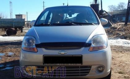 Sim Дефлектор капота Chevrolet Spark (2005-)