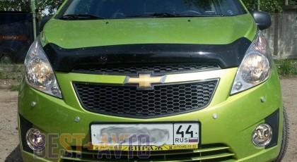 Sim Дефлектор капота Chevrolet Spark (2010 -)/ Ravon R2 (2016-)