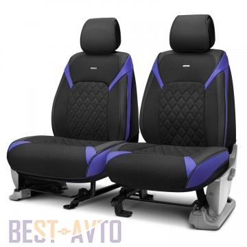 Fashion Накидка-чехол для сидений Sting синие (пара)