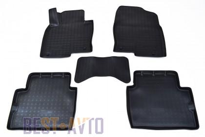 Unidec Коврики салонные для Mazda CX-5 (2017-) Черный