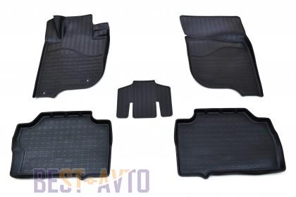 Unidec Коврики салонные для Mitsubishi Pajero Sport (2015-)