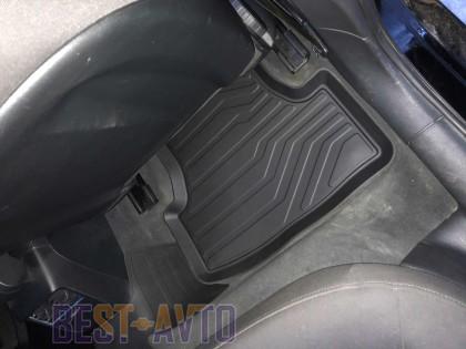 СРТК Резиновые коврики в салон SEAT LEON 2012- 5 ДВЕРЕЙ