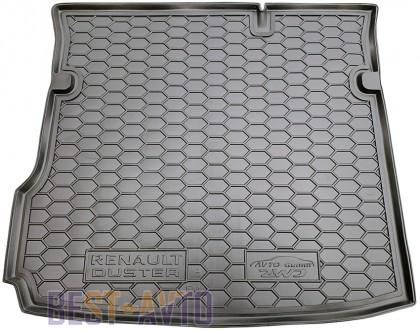 GAvto Коврики в багажник Renault Duster 2WD 2018-