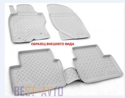 Unidec Коврики салонные для Skoda Superb III 3D (2015) Серый