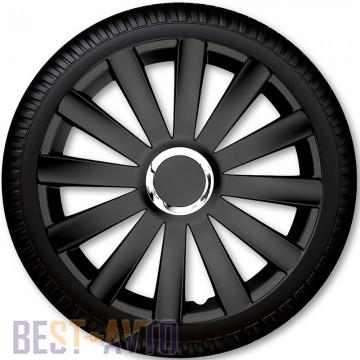 4 Racing Колпаки для колес Spyder Pro Black R16 (Комплект 4 шт.)