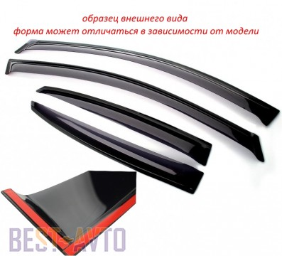 VL,Cobra Tuning Ветровики Honda Accord VII Sd 2003-2007/Acura TSX 2003-2007
