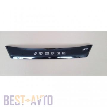 Vip tuning Дефлектор капота Citroen Jumper с 2014 г.в. (короткий)